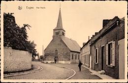 Cp Eugies Frameries Wallonien Hennegau, Rue Haule - Belgique