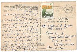Canada 1993 Post CArd Sea Lion Pool - 1952-.... Regering Van Elizabeth II