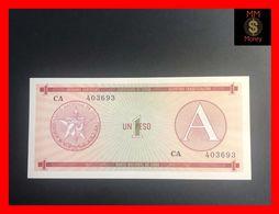 CUBA 1 Peso 1985  P. FX 1  Serie A  UNC - Kuba