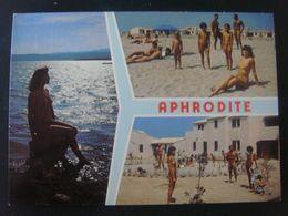 France - Aude (11) - PORT LEUCATE - Aphrodite - Plage Et Village - Homme Nu Femme Nue Naked Nudistes Nudisme - Leucate