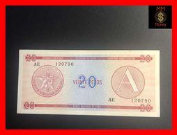 CUBA 20 Pesos 1985  P. FX 5  Serie A    AU - Kuba