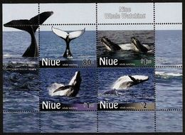 Niue 2010, Niue Whale Whatching, MNHBloc - Niue