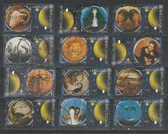 4095 12 X Zodiaque /12 Sterrebeelden Oblit/gestp - Used Stamps
