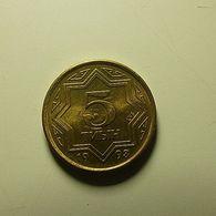 Kazakhstan 5 Tenge 1993 - Kazajstán