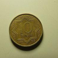 Kazakhstan 10 Tenge 1993 - Kazajstán