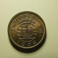 Portuguese Macau 10 Avos 1952 - Portugal