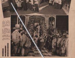 INDIANEN..1932.. E.P. ANGELUS ZEGENT DE LOKALEN DER CIRCUS SARRASSANI - Vecchi Documenti