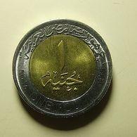 Egypt 1 Pound 2015 - Egypte
