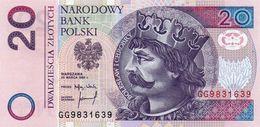 POLAND-POLSKA-POLONIA-20 Zlotych 1994 -P-174a    UNC - Pologne