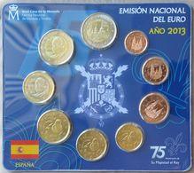 ESX2013.1 - SERIE BU EUROS ESPAGNE - 2013 - 1 Cent à 2 Euros + 2 € Monastère San Lorenzo - España