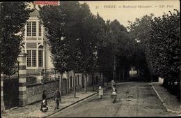 Cp Poissy Yvelines, Boulevard Meissonier - France