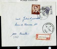 Doc. De LOUVAIN - LA - NEUVE - E - (1348) Du 26/01/73 En Rec. - Marcophilie