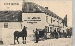 K36//   STEENE-OOSTENDE   CH VERMEIRE VOEDER EN PAARDENHANDEL/ AFSPANNING... - Belgique