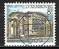 LUXEMBOURG     -  1982 .  Y&T N° 1007 Oblitéré .   Synagogue - Oblitérés