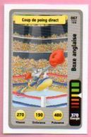 IM478 : Carte Looney Tunes Auchan 2014 / N°067 Boxe Anglaise Coup De Poing Direct - Trading Cards