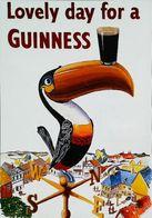 Carte Postale Publicité Bouteille De Bière - Publicité Guinness  Toucan Girouette - Bière