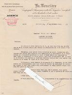 Courrier 1939 Assurance La Foncière / Pour Picard Martigny 88 / Réquisition Voiture Citroën - 1939-45