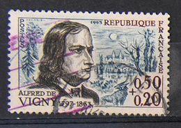 France 1962 - N° 1375 - Alfred De Vigny - Used Stamps
