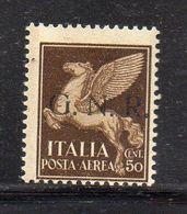 RSI220 - GNR 1944 , Posta Aerea 50 Centesimi Integro  ***  MNH - Airmail