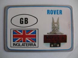 Motor Companies - England - Rover - Portuguese Pocket Calendar 1992 - Calendarios