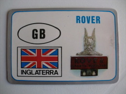 Motor Companies - England - Rover - Portuguese Pocket Calendar 1992 - Calendari