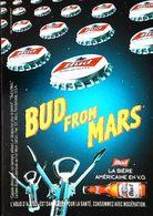 Carte Postale Publicité Bouteille De Bière - Publicité  Bud  From Mars - Cerveza