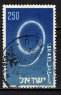 ISRAELE - 1957 - AEREO CHE SCRIVE IL NUMERO 9 - USATO - Israel