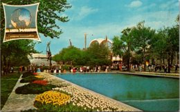 New York World's Fair 1964-1965 Pool Of Reflections & The Court Of Peace - Expositions
