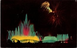 New York World's Fair 1964-1965 Fountain Of Planets - Expositions