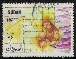 Soudan 1988 Oblitéré Used Oral Rehydration Child's Health Santé De L'enfant Réhydratation Orale SU - Sudan (1954-...)