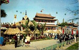 New York World's Fair 1964-1965 Caribbean Pavilion Republic Of China Pavilio And Swiss Sky Ride - Expositions