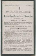 BP Devolder Eduardus Ludovicus (Snellegem 1856 - Bekegem 1918 - Collections
