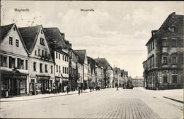 Cp Bayreuth In Oberfranken, Blick In Die Maxstraße, Geschäft Ernst Schmidt - Deutschland