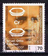 Bund 2018, Michel# 3420 O Ernst Otto Fischer (1918-2007) - [7] Federal Republic