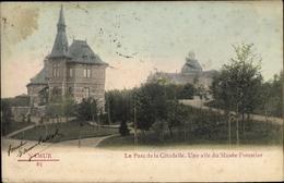 Cp Namur Wallonien, Le Parc De La Citadelle, Une Aile Du Musée Forestier - Belgien