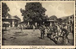 Cp Bangui Zentralafrikanische Republik, Le Marché - Costumes