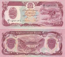 Afghanistan - 100 Afghanis 1990 AUNC Pick 58b Lemberg-Zp - Afghanistan