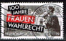 Bund 2019, Michel# 3435 O 100 Jahre Frauenwahlrecht - [7] República Federal