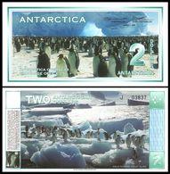 Antarctica - 2 Dollars 1996 UNC Lemberg-Zp - Billets