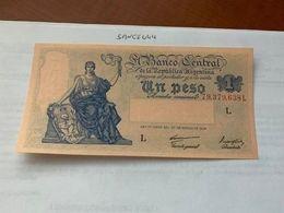 Argentina 1 Peso Uncirc. Banknote 1947 - Argentine