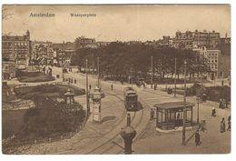 CLA087 - AMSTERDAM WEESPERPLEIN ANIMATED TRAM 1917 - Amsterdam
