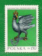 16 Polonia 1973 Yvert 2085 Usado  TT: Fauna,Gallos,Esculturas - 1944-.... Republic