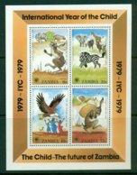 ZAMBIA 1979 Mi BL 5** International Year Of The Child [A5873] - Childhood & Youth