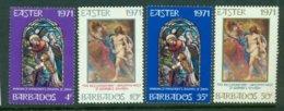 BARBADOS 1971 Mi 322-25** Easter [A5925] - Easter
