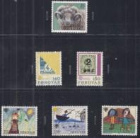 FÄRÖER Jahrgang 1979, Postfrisch **, 41-47 Komplett, Schafzucht, Europa, Jahr Des Kindes - Faroe Islands