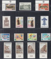 FÄRÖER Jahrgang 1989, Postfrisch **, 179-193, Komplett, Kirche Torsh, Europa, NORDEN, Sportspiele, Landschaften - Färöer Inseln