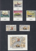 FÄRÖER Jahrgang 1992, Postfrisch **, 227-242, Komplett, Postschiffe, Europa, Seehunde, Mineralien, Gebäude - Féroé (Iles)