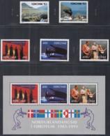 FÄRÖER Jahrgang 1993, Postfrisch **, 243-255, Komplett, Haus Des Nordens, NORDEN, Europa, Pferde, Schmetterlinge - Faroe Islands