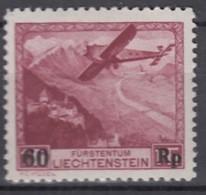 LIECHTENSTEIN 148, Postfrisch *, Erster Postflug Vaduz–Altenrhein–Innsbruck Am 1. Juli 1935 - Nuevos