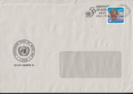 UNO GENF 153, EF, Dienstbrief, Gestempelt: Genf 25.4.1995 - Genf - Büro Der Vereinten Nationen